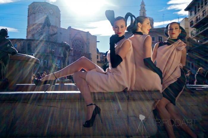 street fashion parade Juan Andrés Mompó